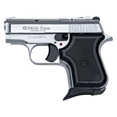 Replica Tuna V950 JF Blank Firing Pistol Chrome Finish