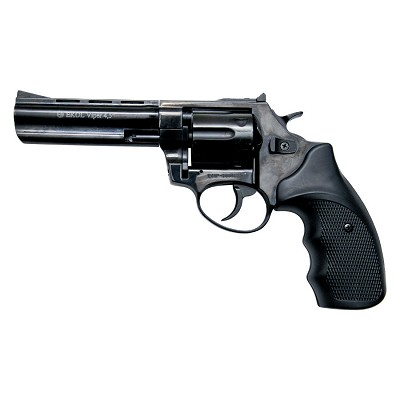 Viper 4.5 Inch Barrel 9MM Blank Firing Revolver Black Finish